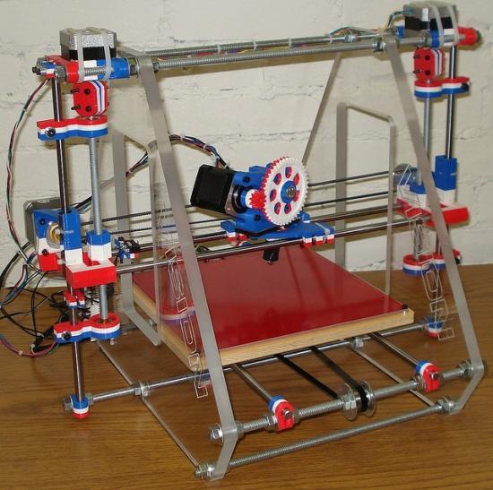 3D принтер reprap prusa i3