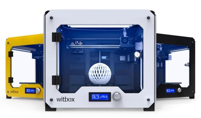 Разновидности 3д принтера BQ Witbox